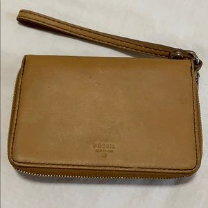 Fossil Wristlet Wallet Phone Case